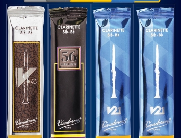 New Vandoren Clarinet Mix Card Reeds for Bb Clarinet