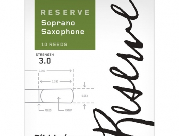 D'Addario Reserve Reeds for Bb Soprano Sax