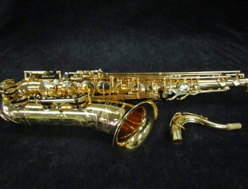 Gorgeous Gold Plated P. Mauriat 66R Gold Plated Tenor Sax, Serial #PM1210313