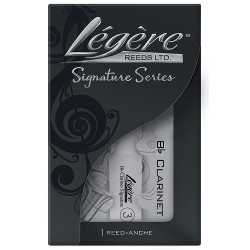 New Légère Signature Series Synthetic Reed for Bb Clarinet