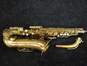 A Player's Original Lacquer THE MARTIN ALTO Sax - Serial # 167798
