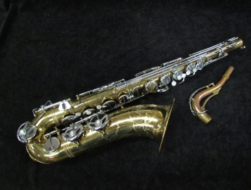 Vintage Original Lacquer Noblet Paris Tenor Sax, Serial #8744