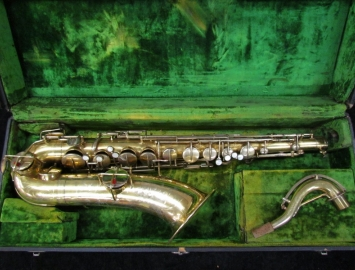 Original Gold Plated Martin-made 'The Elkhart' Tenor Saxophone - Serial # 56688