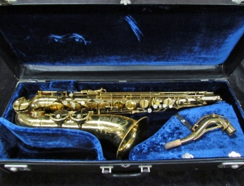 Pretty Original Lacquer King Marigaux by SML Tenor Sax, Serial #22142