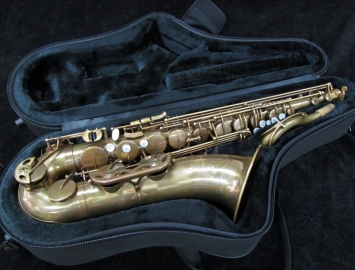 TM Custom Un-Lacquered Tenor Sax – Straight Tone Holes - Saxquest Hand Select