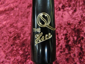 THE HOSS! by Saxquest Hard Rubber Mouthpiece for Baritone Sax