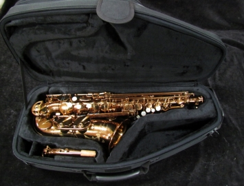 MACSAX Empyreal Alto Sax in Cognac Finish - Hand Selected Serial #EV1406007TC