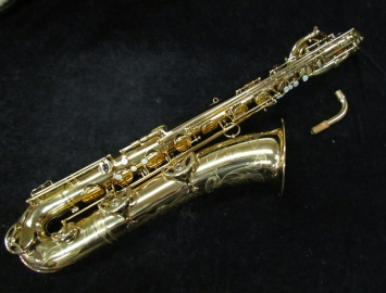 Very Sweet! Original Lacquer Selmer Paris Mark VI Bari Sax Low Bb, Serial #142286