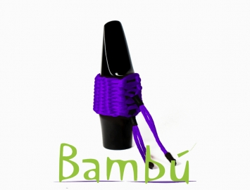 New Bambu Hand Woven Ligature for Alto Sax