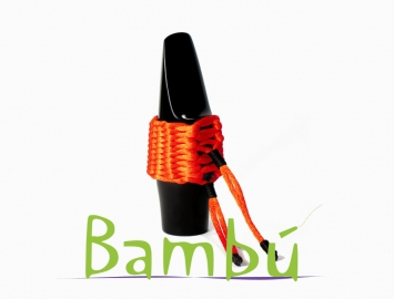 New Bambu Hand Woven Ligature for Soprano Sax