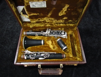 Early Vintage Buffet RC PRESTIGE Bb Clarinet - Serial # F205489