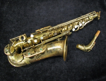 Vintage Selmer Paris Balanced Action Alto Sax, Serial #26164