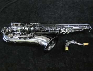 Eastman 640 Series Tenor Saxophone Black Nickel Body and Keys