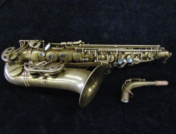 Eastman 52nd Street Un-lacquered Alto Saxophone