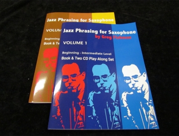 Jazz Phrasing Series for Saxophone by Greg Fishman