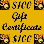 Saxquest Gift Certificate - $100