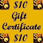 Saxquest Gift Certificate - $10
