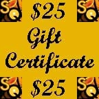 Saxquest Gift Certificate - $25
