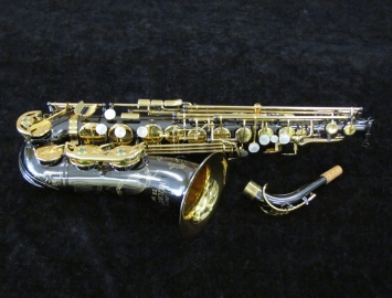 New Keilwerth SX90R Alto Saxophone in Black Nickel Plate