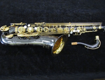 New Keilwerth SX90R Tenor Saxophone in Black Nickel Plate