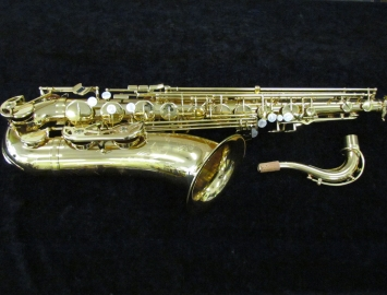 New Keilwerth SX90R Tenor Saxophone in Gold Lacquer