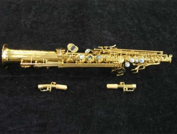 New P. Mauriat System 76 Soprano Gold Lacquer