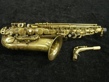 NEW P Mauriat System 76 UNLACQUERED Alto Saxophone