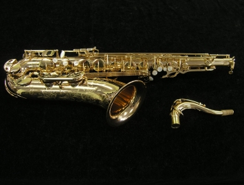 NEW! TM CUSTOM 500 SL Gold Plated Tenor Saxophone
