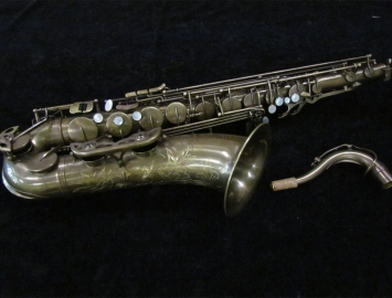 NEW! TM CUSTOM 500 SL Un Lacquered Tenor Saxophone