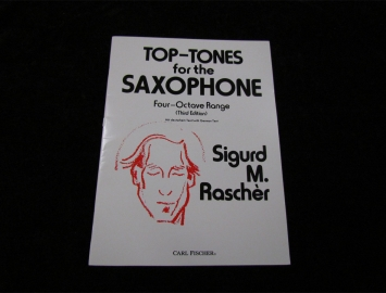 Top Tones for Saxophone by Sigurd Rascher