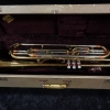 Vintage Getzen Deluxe Bass Trumpet with Original Case, Serial #113249