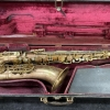 Pearl Side Key Vintage King Super 20 Tenor Sax in Original Lacquer - Serial # 298095