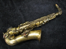 Vintage Original Gold Plate Conn Chu Berry Alto Sax, Serial #164878