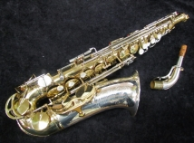 Super Clean! Vintage King Super 20 Silver Sonic Alto Sax, Serial #534768 - Original Finish