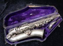 Original Silver Plated Selmer New York C-Melody Saxophone - Serial # 48709