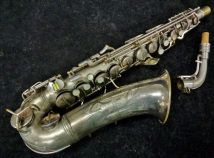 Original Silver C.G. Conn Transitional 6M Alto Sax - Serial # 256578