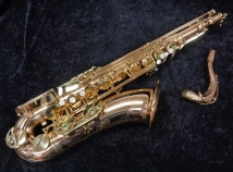 NICE! Used Chateau VCH 800 Gold Lacquer Tenor Sax, Serial #2302870