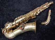 Original Gold Plated CG Conn Virtuoso Deluxe Alto Sax - Serial # 130320