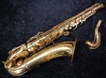 A Player's Vintage CG Conn 10M 'Naked Lady' Tenor Sax - Serial # 298184