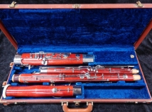 Fox Renard Model 222 Maple Bassoon in Great Shape - Serial # 4099