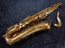 Vintage Buescher Big B Tenor Sax with Original Reso's, Springs - Serial # 296367