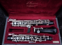 Vintage Josef Puchner Nauheim Germany Wood Oboe - Serial # 997