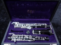 60s Vintage Professional F Lorée Paris Oboe - Beautiful! - Serial # BH94