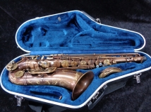 Pristine P Mauriat System-76 2nd Edition UNLACQUERED Tenor Sax # PM0723315