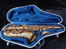 Lightly Used P Mauriat System 76 Unlacquered Tenor Sax - Serial # PM0220815