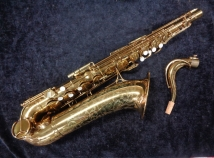 Vintage The Martin Committee III Original Gold Lacquer Tenor Sax, Serial #208836