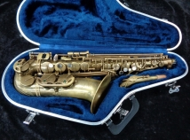 Nice P Mauriat Unlacquered 67R Series Alto Sax - Serial # PM0105413