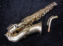 Original Gold Plated Buescher True Tone Alto Saxophone - Serial # 253398