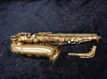 Vintage Selmer Paris Radio Improved Alto Sax, Serial #19723