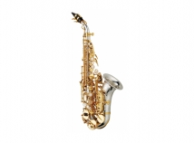 New Yanagisawa SC-WO37 Professional Curved Soprano Sax in Sterling Silver